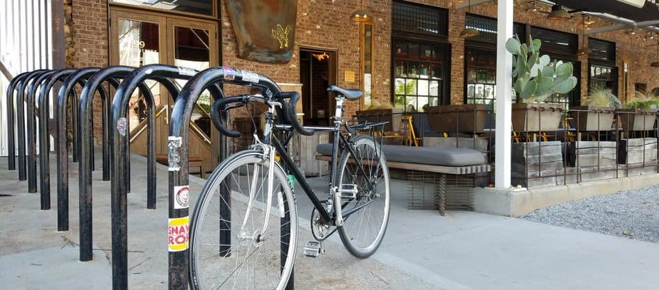 Bike over to Superica at Krog Street Market for some Tex-Mex.
