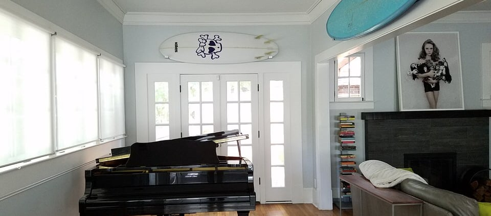 Virginia-Highland Home For Lease - Piano Room